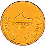 Token - Integral SAP Urban bus transport (Yellow) – reverse