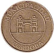 Bus Token - 1 Sección (Córdoba; 23 mm) – obverse