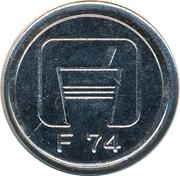 Token - F 74 – obverse