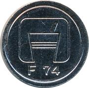 Token - F 74 – reverse