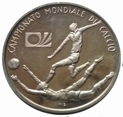Token - 1974 FIFA World Cup – obverse
