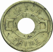 Jeton Prime - Non rejouable – obverse