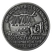 Token - 200th American Bicentennial (Boston Tea Party) – obverse