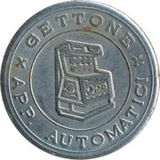 Jukebox Token - Gettone Apparecchi Automatici – obverse