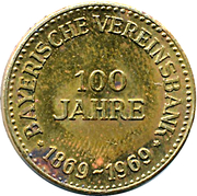 Token - Bayerische Vereinsbank – obverse