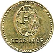 Token - Bayerische Vereinsbank – reverse