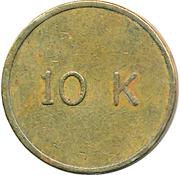 Token - 10 K – obverse