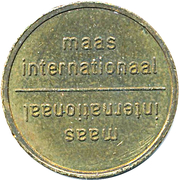 Vending Machine Token - Maas Internationaal – obverse