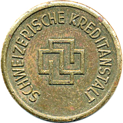 Token - Schweizerische Kreditanstalt – obverse