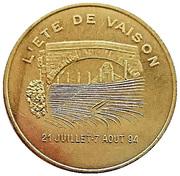 1 ECU (Vaison-la-Romaine) – reverse