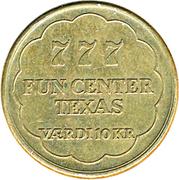 10 Kroner - Fun Center Texas – reverse