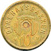 10 Kronen - Dyrehavsbakken – reverse