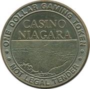 1 Dollar Gaming Token - Casino Niagara – obverse