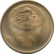 Token - Sparebank Uken (Henrik Wergeland) – reverse