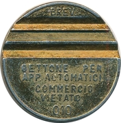 Token - Gettone Apparecchi Automatici (010; Z; 27.7 mm) – obverse