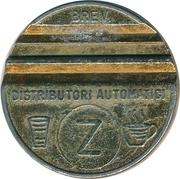 Token - Gettone Apparecchi Automatici (010; Z; 27.7 mm) – reverse