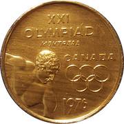 Token - XXI Olympics Montreal – obverse
