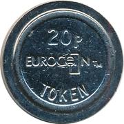 20 Pence - Eurocoin Token (AL) – reverse