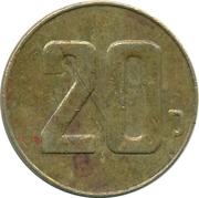 20 Pence – reverse