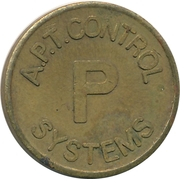Token - A.P.T. Control Systems (22 mm) – obverse