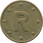 Token - R  (20 mm) – obverse
