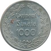 Casino Token - Sinaia Casino (1000) – obverse