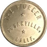 12 ½ Cents - The Pioneer (Susanville, CA) – obverse