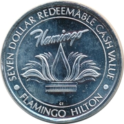 7 Dollars - Flamingo Hilton (Laughlin, Nevada) – obverse