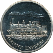 Token - History of Railroads (Orient-Express) – obverse
