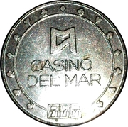 Game Token - Casino Del Mar – obverse