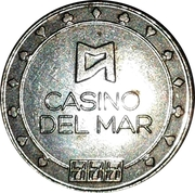 Game Token - Casino Del Mar – reverse