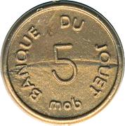 5 Centimes - Banque du Jouet (Mob) – obverse