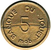 5 Centimes - Banque du Jouet (Mob) – reverse