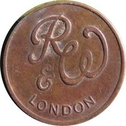 Token - R&W London (21 mm) – obverse