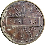 Vending Token - R&W London – reverse