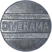Arcade Token - Diverama – obverse