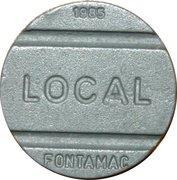 Telephone Token - National Local Call (Fontamac) – obverse