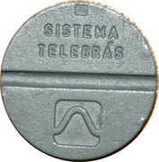 Telephone Token - National Local Call (Fontamac) – reverse