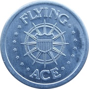 Token - MCI (Flying Ace) – reverse