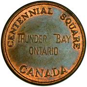 Parking Token - Thunder Bay – obverse