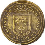 Counter Token - Louis IV (Nuremberg) – reverse