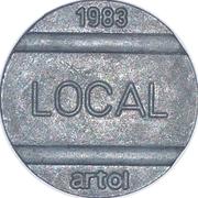 Telephone Token - National Local Call (Artol) – obverse