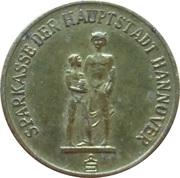 Token - Sparkasse Weltspartag 1968 (Hannover) – obverse