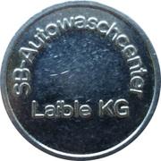 Car Wash Token - SB Autowaschcenter (Laible) – obverse