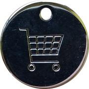 Shopping Cart Token - Tvojih Pet Minut – reverse