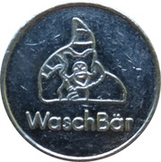 Car Wash Token - Waschbär – reverse