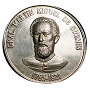 Token - Martín Miguel de Güemes – obverse