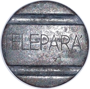 Telephone Token - TELEPARÁ (Pará State Local Call) – obverse