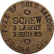 3 Dollars - Poke of Gold Saloon – obverse