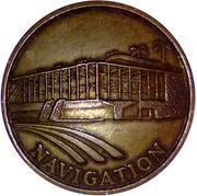 Token - Sevilla Expo'92 (Navigation) – obverse